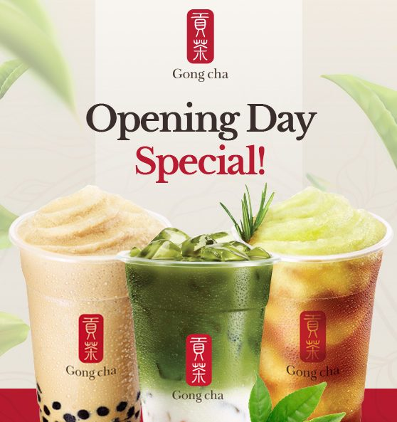 Gong Cha promotion